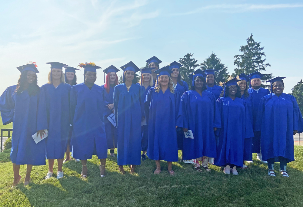 Adult Career Center Graduates Receive Recognition