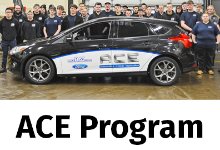 Auto Tech Program Partners with Mike Bass Ford