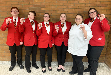 High Honors Awarded at Regional FCCLA Competition
