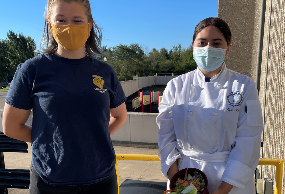 Students Start Compost Project