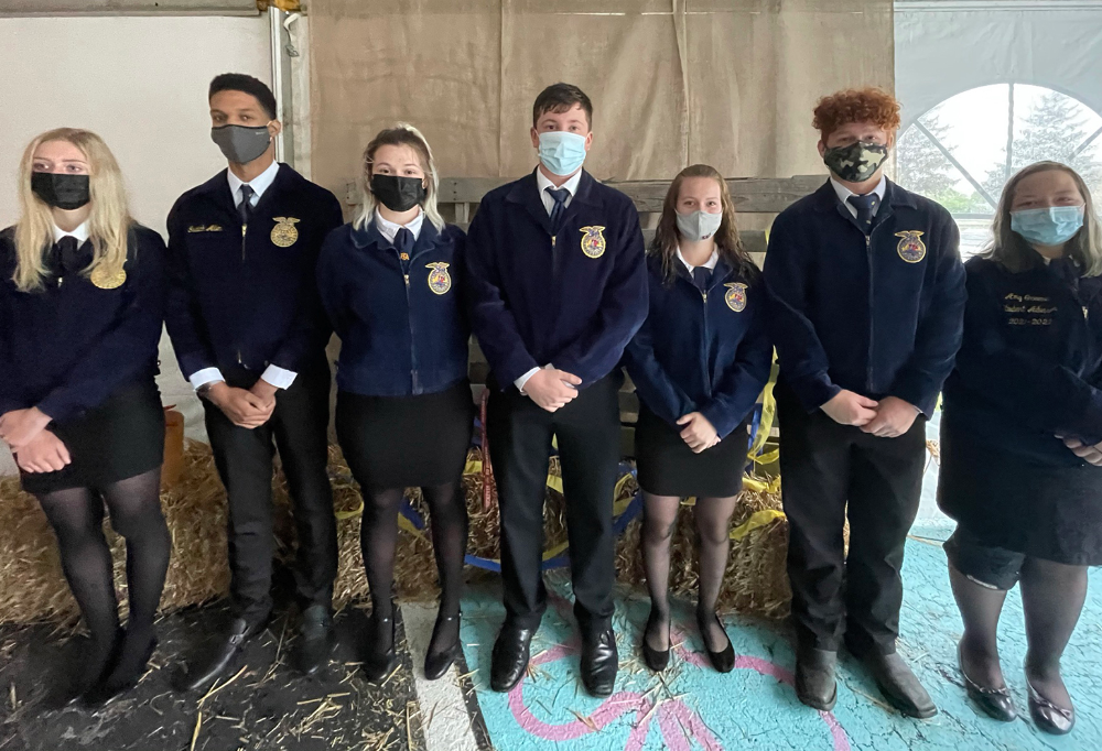 2021-22 JVS FFA Chapter Officers