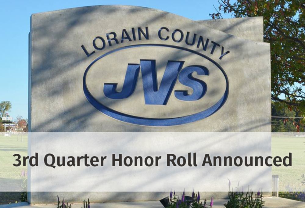 3rd quarter honor roll announced - JVS logo on sign
