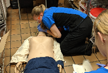 Allied Health Sciences Juniors Earn First Aid & Safety Certification